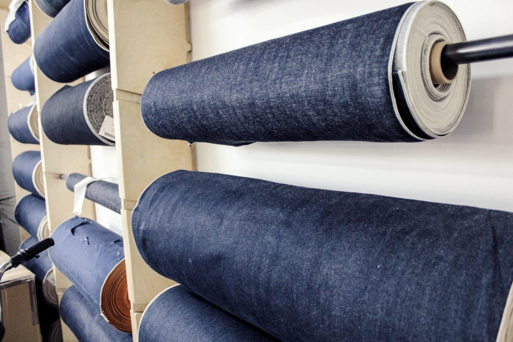 Selection of denims