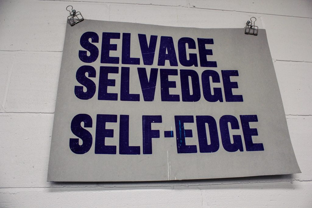 Selvedge poster