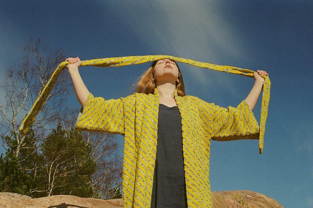 knitted-cardigan-on-nokonen-dress