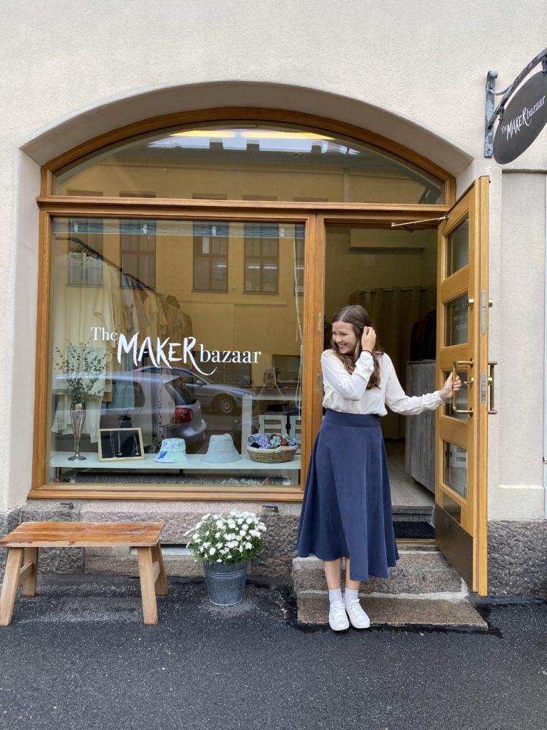 the maker bazaar jennie